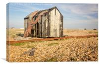 Netted Shack, Canvas Print