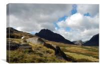 Tryfan Mountain In Snowdonia, Canvas Print