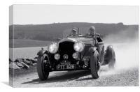 1935 Bentley Sport, Canvas Print