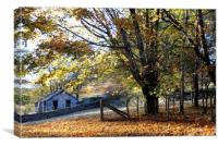 Autumn Scene, Canvas Print