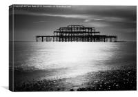 The Old Pier II, Canvas Print