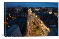 Humberstone Gate, Leicester, Canvas Print