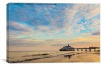 Eastbourne Pier Sunset, Canvas Print