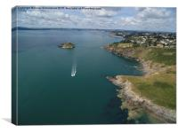 Hope's Nose Babbacombe , Canvas Print