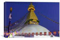 Boudhanath Stupa of Nepal, Canvas Print