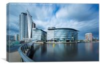 The BBC Centre at Salford Quays, Canvas Print