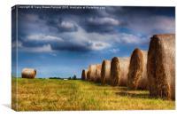 Haystack Rolls, Canvas Print