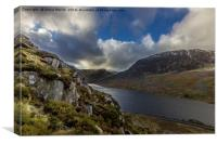 Tryfan View, Canvas Print