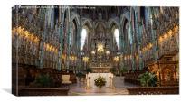 La Cathédrale Notre-Dame 1, Canvas Print
