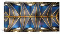 La Cathédrale Notre-Dame 2, Canvas Print