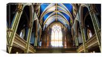 La Cathédrale Notre-Dame 3, Canvas Print