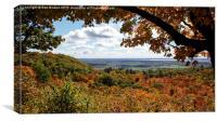 Champlain Lookout, Canvas Print