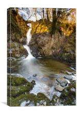 Aria Force Waterfall, Lake District, Canvas Print