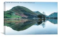Brotherswater Refelctions, Canvas Print