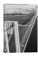 Verrazano Narrows Bridge, Canvas Print