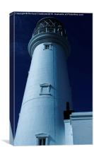 Lighthouse Blues, Canvas Print