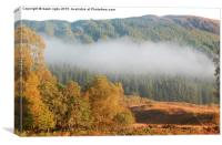 Highlands in Autumn, Canvas Print