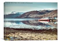 Loch Linnhe, Fort William, Highlands, Scotland, Canvas Print