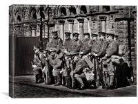 first world war fusiliers, Canvas Print