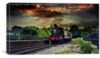 12322 locomotive train, Canvas Print