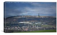 Holcombe hill and peel monument, Canvas Print