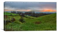 Birtle Greater Manchester, Canvas Print