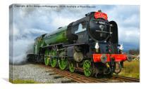 LNER Peppercorn Class A1 60163 Tornado, Canvas Print