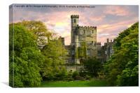 Hornby Castle, Canvas Print
