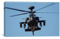 Apache Face-0ff, Canvas Print