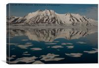 Svalbard Landscape, Canvas Print
