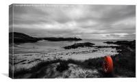 Clachtoll Beach Coloursplash, Canvas Print