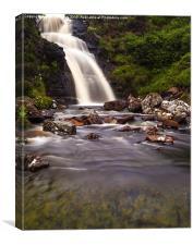 Falls of Dionard , Canvas Print
