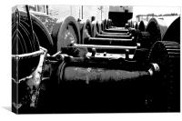 Rolling Stock, Canvas Print