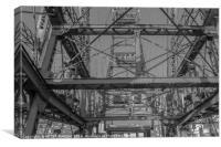 Ferris Vienna, Canvas Print