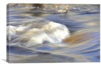 White Water Rapids, Canvas Print