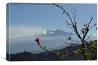 Mount Etna, Sicily , Canvas Print