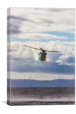 Puma at the Scottish Airshow, Canvas Print