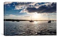 At anchor, Canvas Print