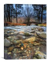 Neither Beck - Lake District National Park UK, Canvas Print