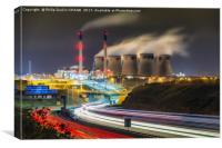 Ferrybridge Power Station, Canvas Print