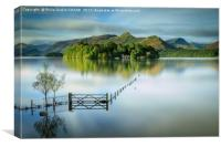 Derwentwater - Lake District National Park, Canvas Print