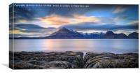 The Cuillins from Elgol, Canvas Print