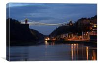Bristol Suspension Bridge, Canvas Print