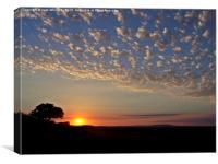 Sunset in September, Canvas Print