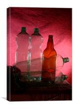 Bottles 2, Canvas Print