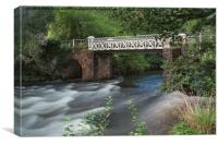 Marsh Bridge, Canvas Print