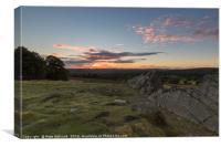 Sundown Over Leicestershire, Canvas Print