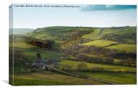 Staffordshire Hills, Canvas Print