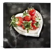 Strawberry Love, Canvas Print
