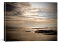 Marazion Beach Cornwall, Canvas Print